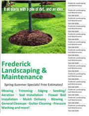 Frederick Landscaping & Maintenance