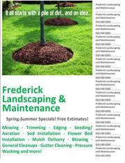 Frederick Landscaping & Maintenance